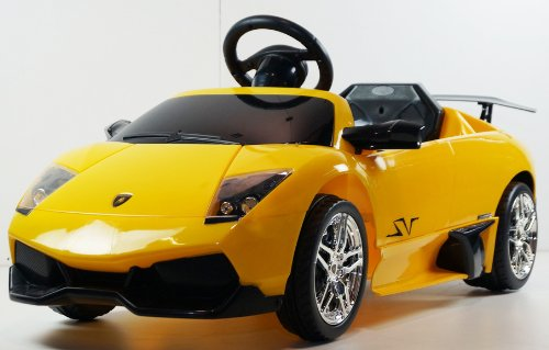 New New Technology Programing Remote Controlled License Electric Lamborghini Ride-On Car Lights