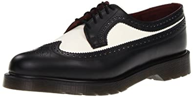 dr martens 3989 smooth black off white scarpe da barca uomo scarpe e borse. Black Bedroom Furniture Sets. Home Design Ideas