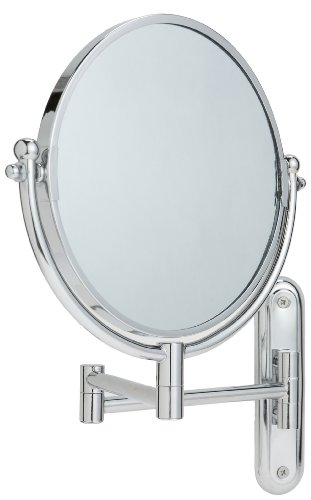 Taymor Chrome Wall-Mount Swing Arm Mirror