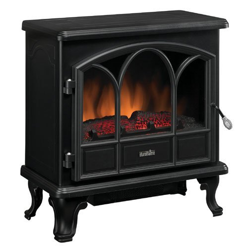 Duraflame Electric Stove Heater, Black (Open Box) (Electric Fireplace Open compare prices)