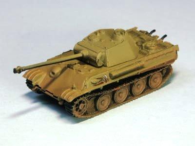 ドイツ軍 パンター (V号戦車) 中戦車 G型 単色迷彩(ダークイエロー)