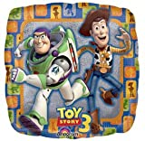 TOY STORY 3 BUZZ Lightyear WOODY Mylar Party Balloon