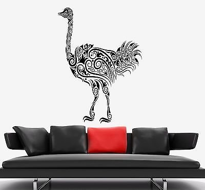 Ostrich Wall Decal