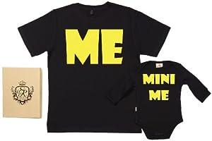 Spoilt Rotten - Me & Mini Me - 100% Bio-algodón - Papá y bebé caja de regalo Set marca Spoilt Rotten