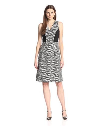 Eva Franco Women's Rovie V-Neck A-Line Dress
