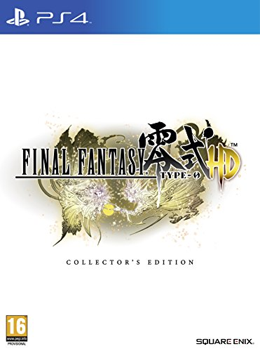 Final Fantasy: Type-0 - Hd Collector's Limited Edition Uk Import Rare (Ps4 Final Fantasy Type 0 Console compare prices)