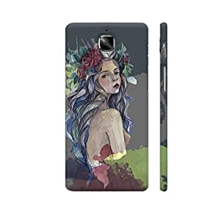 Colorpur Boho Chick Designer Mobile Phone Case Back Cover For OnePlus 3