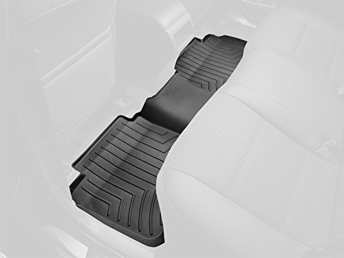 WeatherTech Custom Fit Rear FloorLiner for Dodge Ram 1500 (Black) (2010 Dodge Ram Weathertech compare prices)