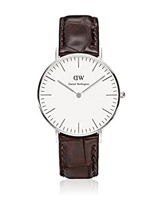 Daniel Wellington Reloj con movimiento cuarzo japonés Woman York blanco/gris 36 mm