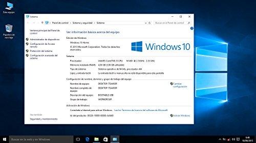 Windows-10-Professional-32-64-Bits-en-DVD-ROM-Espaola-Utilizado-para-la-Reparacin-Recuperacin-Restauracin-y-volver-a-Instalar
