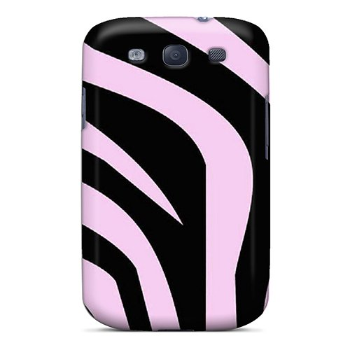 Durable Protector Case Cover With Zebra Print Hot Design For Galaxy S3