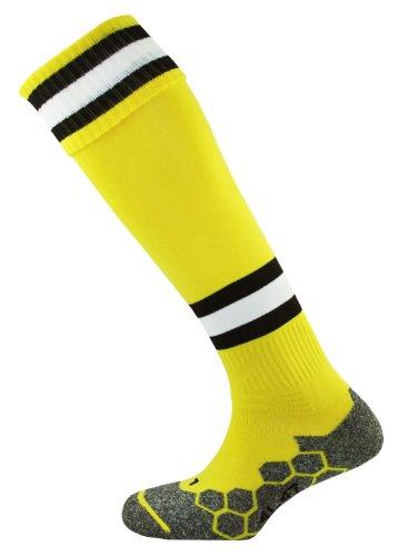 mitre-division-tec-adult-football-sock-yellow-black-white-senior-7-12