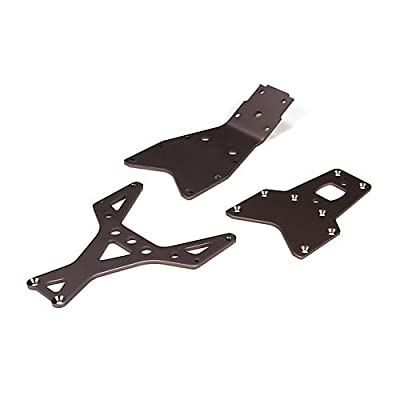Vaterra VTR241014 Front, Rear Mount Plates: 1/8 Glamis Uno, Fear