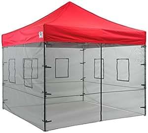 Amazon.com : Impact Canopies 10' Vendor Food Mesh Walls Sidewall