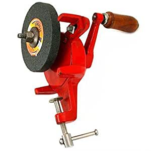 Amazon Com Manual Hand Grinder Stone Jewelers Bench