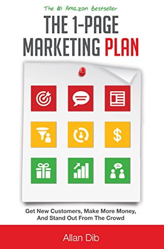 The 1-Page Marketing Plan by Allan Dib ebook deal