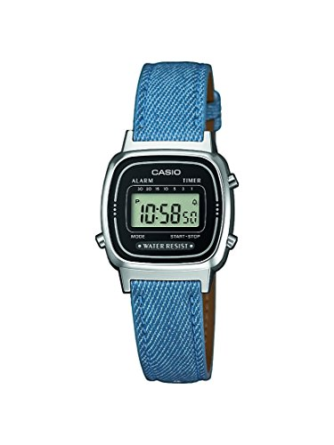 Casio-Collection-Damen-Armbanduhr-Collection-Digital-Quarz-Kunstleder-LA670WEL-2A2EF