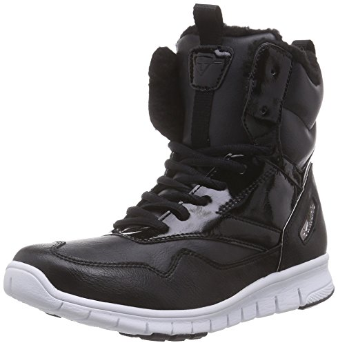 Tamaris26299 - Sneaker donna , Nero (Nero (Black 001)), 42