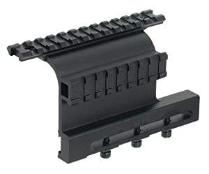 UTG MNT973 AK47 Side Mount with Double Rails