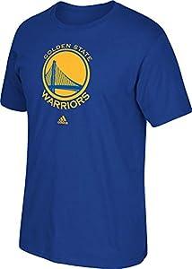 NBA Golden State Warriors Men's Full Primary Logo Tee, Medium, Blue