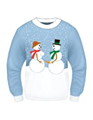 Forum Naughty Christmas Snowman Sweater
