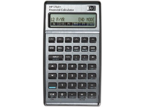Hewlett Packard HP17BIi+ Financial Calculator