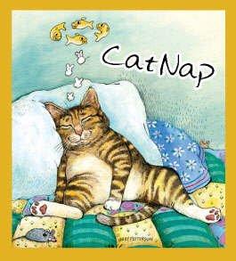 Cat Nap Bookmark