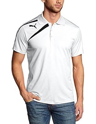 Puma Spirit Mens Polo Tee Shirt (Small, White)
