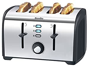 Breville VTT377 Polished Stainless Steel 4-Slice Toaster
