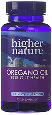 Higher Nature Oregano Oil - 90 Capsules by Higher Nature