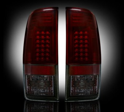 Recon 264176Rbk Led Tail Lights Ford Superduty 2008-2013