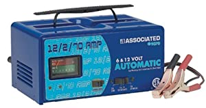 Associated Equipment 9070 Portable Automatic Battery Charger with Engine Starter