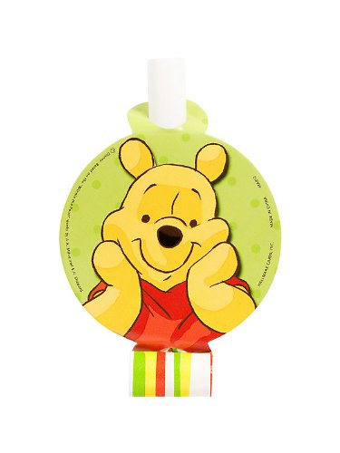 Hallmark Mens Disney Pooh and Pals Blowouts Red Medium