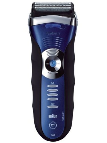 Braun Series 3 380-3 Electric Rechargeable Wet  &  Dry Male Foil Shaver