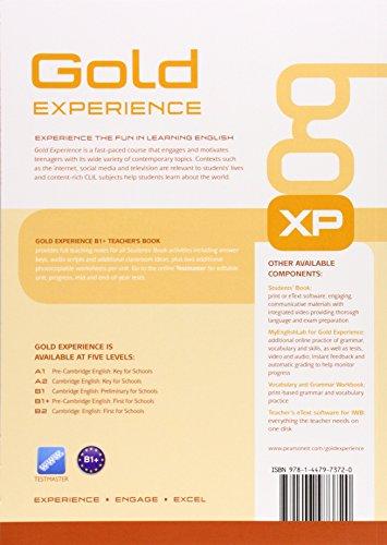 Gold Experience B1+ Teacher's Book