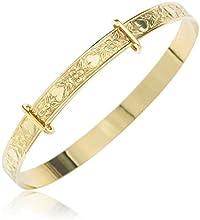Bracelet - B36 - Pulsera de niño de oro amarillo (9k)