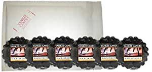 Yankee Candle 6 x Black Coconut Wax Potpourri Tart Melts