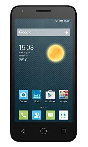 Alcatel One Touch Pixi3 (4.5) 3G Smartphone, Dual SIM, Nero [Italia]