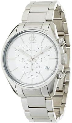 Calvin Klein Masculine K2h27126 Gents Steel Bracelet Stainless Steel Case Watch