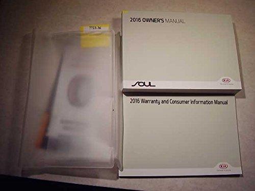 2016 Kia Soul Owners Manual (Kia Soul Owners Manual compare prices)