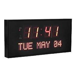 Active Living Oversized Digital LED Dynamic Wall Clock
