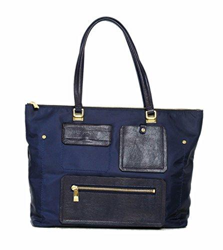 tutilo-women-designer-handbags-studio-nylon-top-zip-tote-shoulder-bag-navy-blue