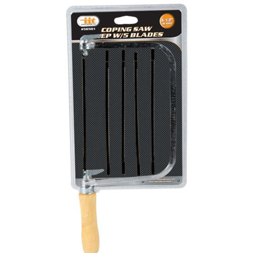 IIT 56501 Coping Saw Deep with 5 Blades