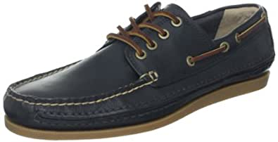 FRYE Men's Mason Camp Moc Boat Shoe Navy 9.5 M US