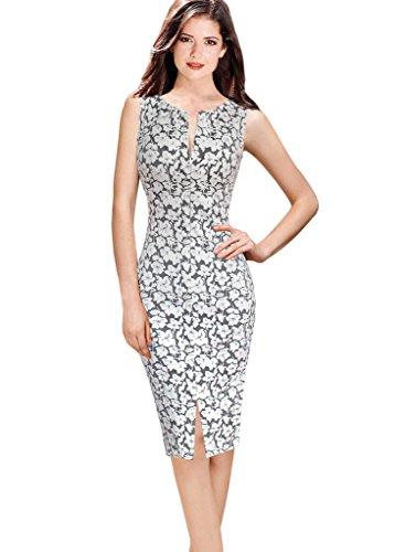 VfEmage-Womens-Summer-Sleeveless-Print-Wear-To-Work-Casual-Sheath-Dress
