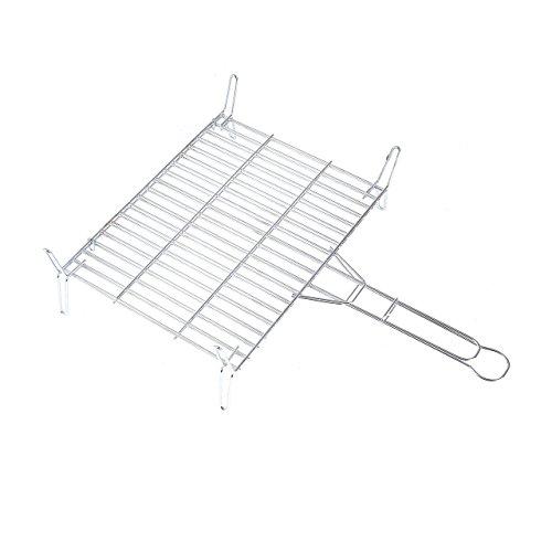 rayen-aa96-stainless-steel-bbq-grill-rack-chrome-grey-grey-40x40x15-cm