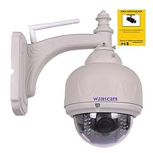 Ip wifi telecamera videosorveglianza telecamera powered h for Telecamera amazon