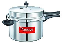 Prestige Popular Aluminium Pressure Cooker, 8.5 Litres