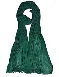 Womens Cottage Bottle Green Chiffon Dupatta