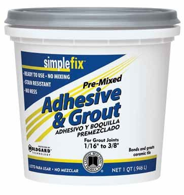 CUSTOM BLDG PRODUCTS TAGWQT Quart Premixed Adhesive/Grout (Custom Building Products Sealer compare prices)